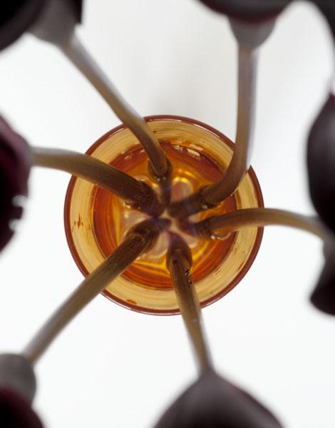 Orange Vase from Bartje